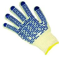 Перчатки х/б 4-нитки с ПВХ «Волна» 10кл